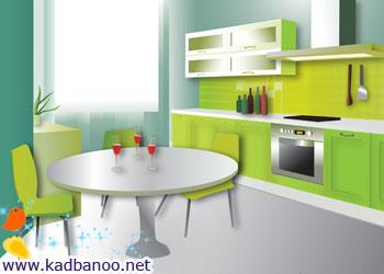 چطور آشپزخانه ای مرتب داشته باشیم؟