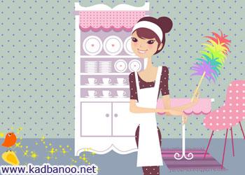 آشپزخانه تکانی برای روزهای عید