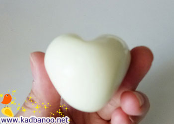تخم مرغ به شکل قلب