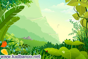 شعر سلام به جنگل سبز