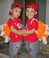 محمد پویا و محمد طاها نامی