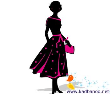 لباسهای مناسب برای خانمهای قد بلند و لاغر