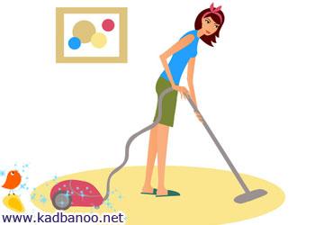 8 تکنیک تمیز کردن خانه