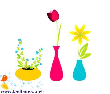 گلدان های کوچک