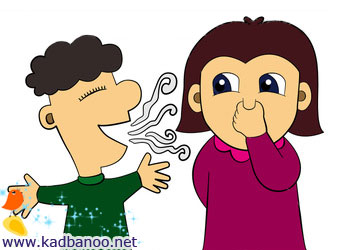 چیزهایی که باعث بوی بد دهان می شوند