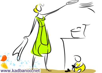 تمیز کردن خانه ظرف 10 دقیقه