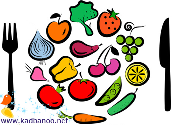 رژیم غذایی مناسب برای زیبایی پوست و مو