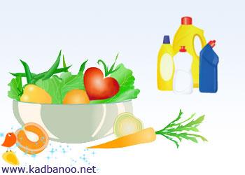 مایع های ظرفشویی، سبزیجات را ضدعفونی نمی کنند