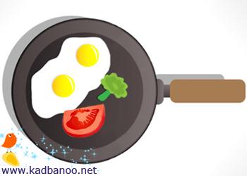 روزتان را با تخم مرغ شروع کنید تا چاق نشوید