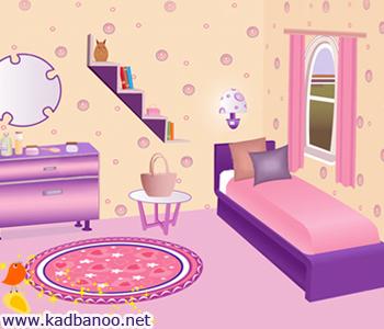 تزیین اتاق خواب دخترها