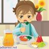 شیوه های ترغیب کودکان به خوردن غذاهای سالم