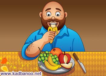مردان، میوه و سبزی بیشتری بخورند