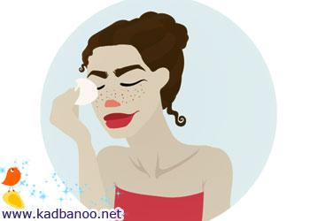 ماسک هایی برای رفع کک و مک پوست