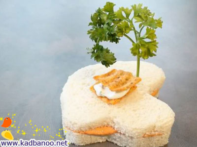 تزئینات فانتزی ساندویچ