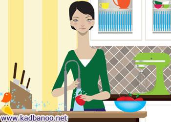 روش شستن میوه و سبزی