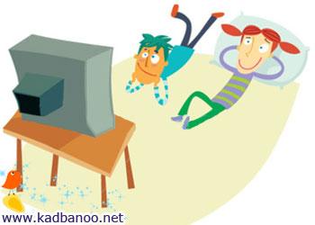 روشن بودن دائم تلویزیون به رشد کودکان آسیب می رساند
