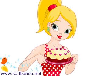 نکاتی درباره پخت کیک