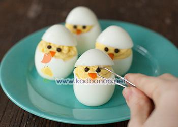 تخم مرغ به شکل جوجه