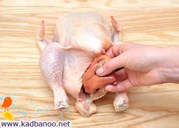 آموزش خرد کردن مرغ