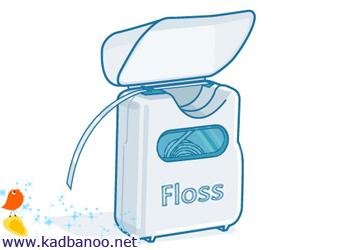 کاربردهای نخ دندان