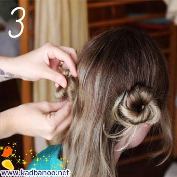روش درست کردن یک مدل موی ساده
