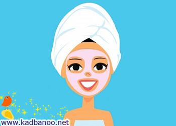 پوستی سالم با مواد طبیعی