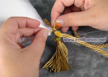 بالشتک حلقه های عروس و داماد