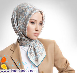جدیدترین مدلهای بستن روسری و شال