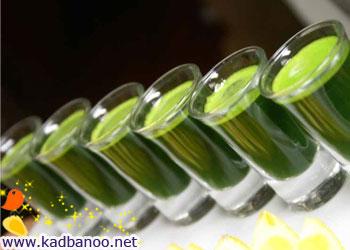 خواص آب سبزه گندم