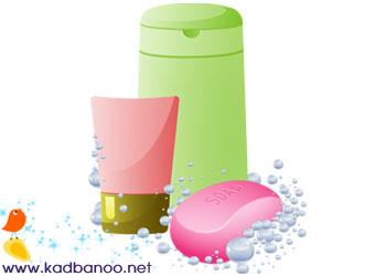 صابون، شامپو بدن یا ژل حمام