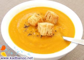 سوپ هویج تند