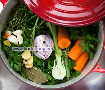استاک سبزیجات