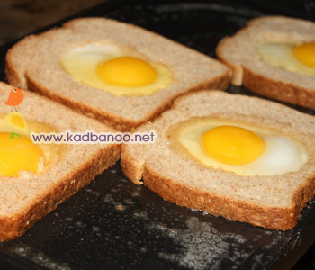 یک مدل جالب تخم مرغ نیمرو