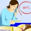 روش های خانگی برای درمان تب