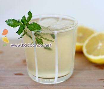 شربت لیمو و نعناع