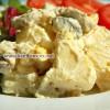 سالاد مرغ و سیب زمینی