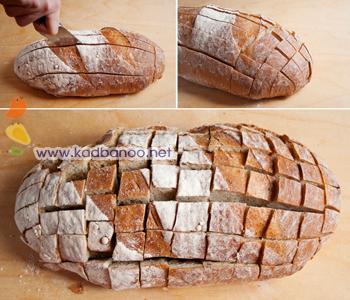 برش نان