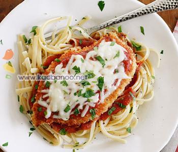 چیکن پارمیجیانا (غذای ایتالیایی)