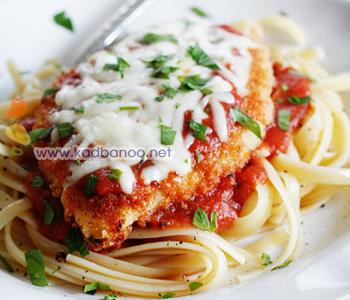 غذای ایتالیایی چیکن پارمیجیانا